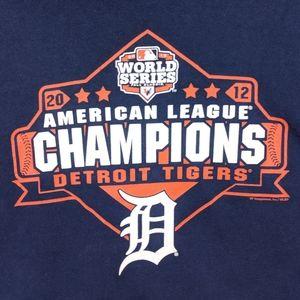 Vintage 2012 Detroit Tigers TShirt